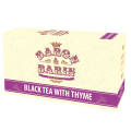 BLACK TEA WITH THYME